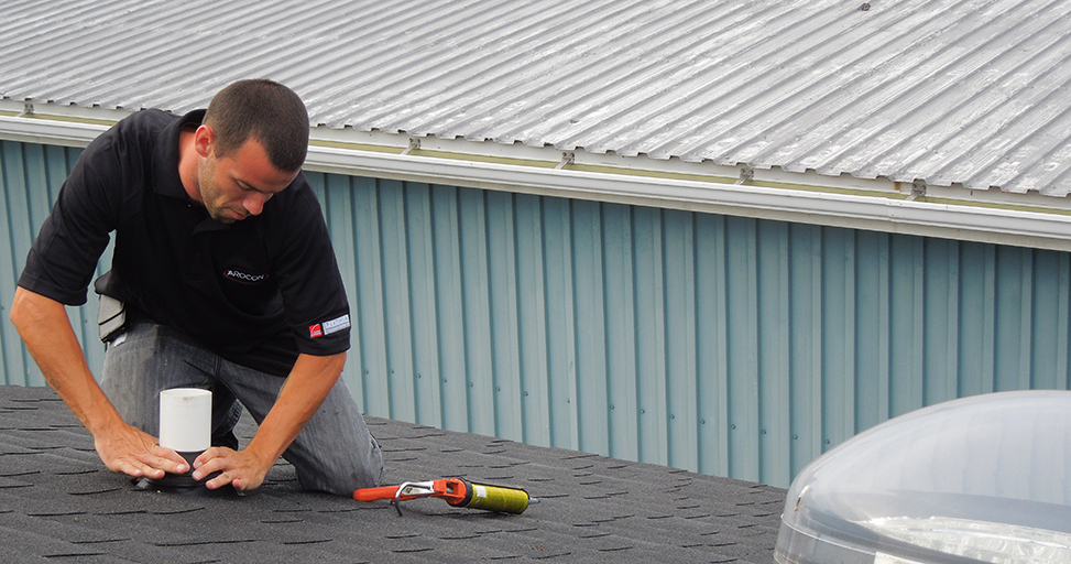 flat roof tune up