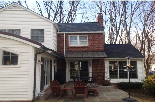 Asphalt Shingle Roof Replacement in Gaithersburg, MD.