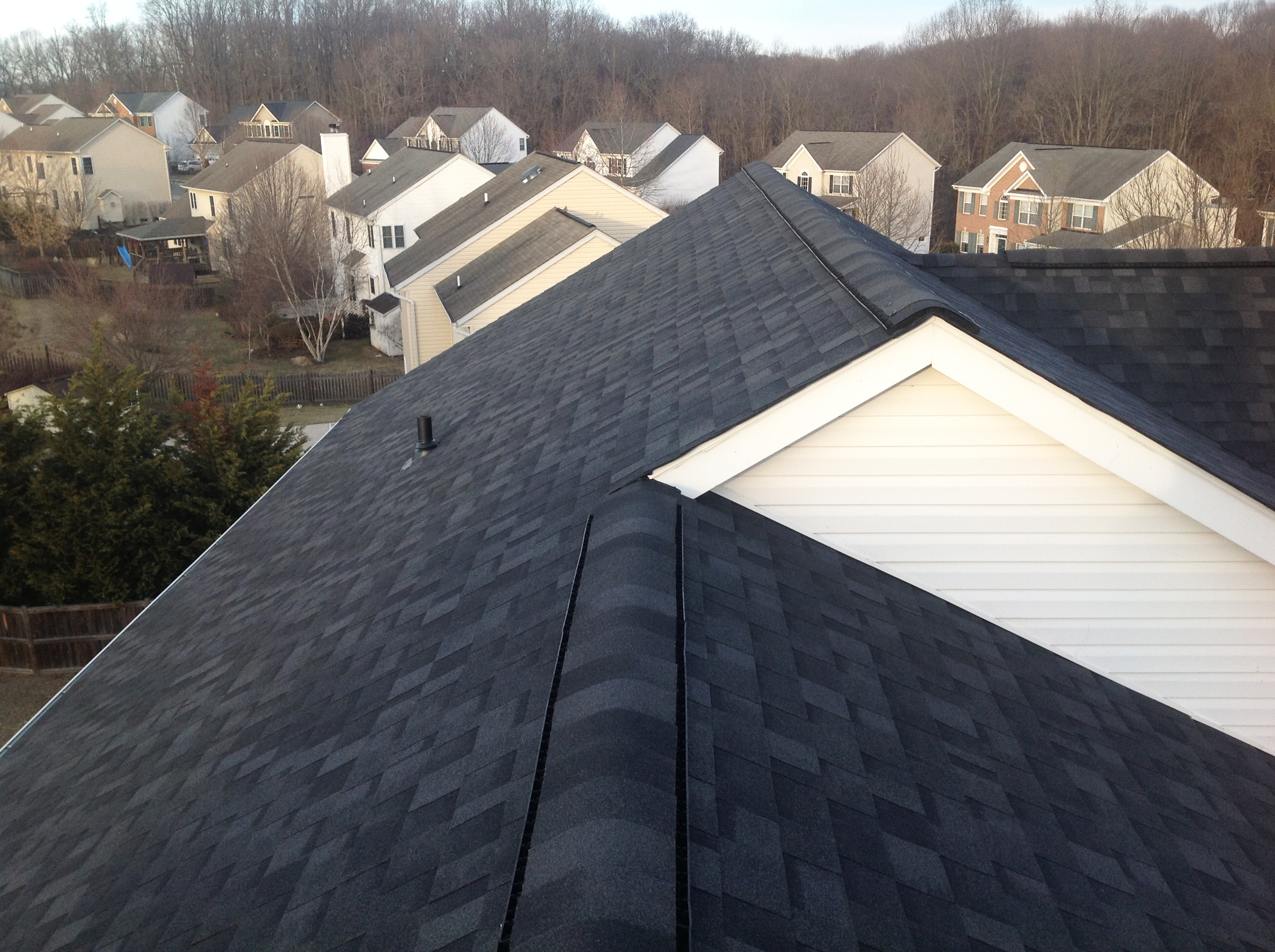 Asphalt Shingle Roof Replacement in Columbia, MD.